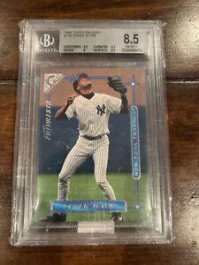 1996 Topps Gallery #143 Derek Jeter Yankees RC Rookie HOF BGS 8.5 w/ 9.5
