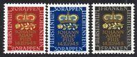 Liechtenstein Set of 3 Stamps c1945 Unmounted Mint Never Hinged (7213)
