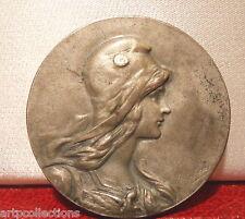 Rare Médaille Jeton Argent RF Justice Comité Prisons Marianne Doubs