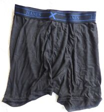 Hanes X Temp Mens Boxer Brief Brand New without tags Size M Black Underwear