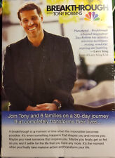 NEW! BREAKTHROUGH by Tony Robbins 6 DVD Box Set, Complete