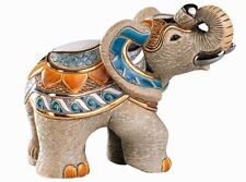 De Rosa Indian Elephant Figurine NEW in Gift Box - 26844