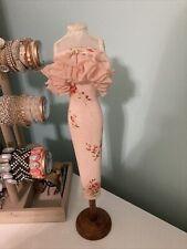 Decorative Mannequin Dress Bust Form - Boudoir Floral Shabby Chic - 16� talk