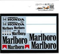 Museum Collection 1/12 McLaren MP4/5 Tobacco Decal for TOPMARQUES D890