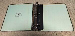 "Vintage 3 ring binder~Wilson Jones 346-44L~3"" metal reinforced~made in USA"
