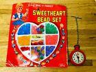Vintage Redbox Toy Sweethearts Bead Set & Dibro Pretend Nurse Stop Watch