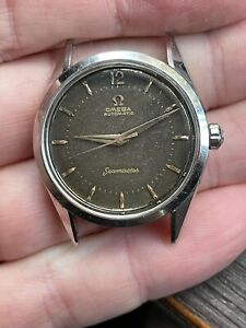 1956 Tropical Vintage Automatic Omega Seamaster DeLuxe, Ref 2802, Cal 471