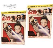 2017 Topps Star Wars The Last Jedi Blaster Box (2 box lot!)