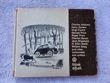 Vintage 1967 Volkswagen Dealer Joke book Think Small - Marketing VW