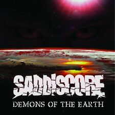 SADDISCORE - DEMONS OF THE EARTH   CD NEUF