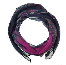 Écharpes et châles foulard bleu à motif Floral pour femme