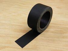 """2"""" Floor Stage Show Audio Cloth Gaff Gaffer Black Gaffers Tape 75' 25 yd"""
