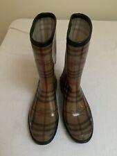 Burberry Signature Rain Boots Size 38