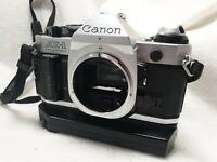 Canon AE-1 Program 35mm analoge Spiegelreflexkamera SLR #2983663 +Objektive uvm.