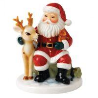 Royal Doulton Nostalgic Christmas A Busy Night Ahead Figurine Retro Hand Signed