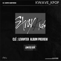 STRAY KID CLE:LEVANTER LIMITED ED KPOP NEW SEALED ALBUM PREORDER CALENDAR POSTER