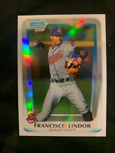 FRANCISCO LINDOR 2011 Bowman Chrome Prospects REFRACTOR RC METS 012050