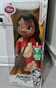"""VERY RARE! Disney Store Lilo & Stitch LILO Animator 16"""" Doll Brand New in box"""