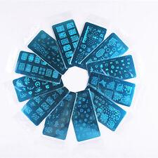 Nagel-Kunst-Druckplatte Bild Stamping Platten DIY Maniküre Schablone