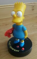 Wesco Bart Simpson  Skateboard Talking Alarm Clock 1991