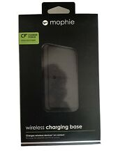 Mophie Wireless Charging Base Pad Force Qi Charger - Black New Ships today