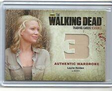 The Walking Dead Season 3 Part 2 Wardrobe Card M34 LAURIE HOLDEN as ANDREA
