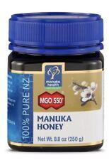 Manuka Health MGO 550+ Manuka Honey 100% Pure New Zealand Honey 8.8 oz Exp 1/21