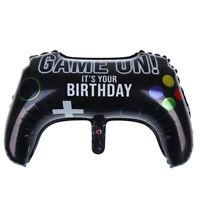 64*40cm Gamepad Shape Foil Balloon Birthday Party Balloons Decor Kids Toys DPYW