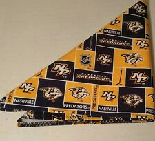 NHL Nashville Predators Bandana Handmade