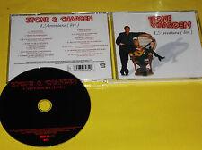 CD  - STONE ET CHARDEN   L'AVVENTURA (LIVE)
