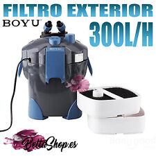Filtro exterior para acuario Boyu 350l/h