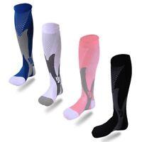 Fitness Varices Calcetines de compresion Estiramiento de la pierna de apoyo