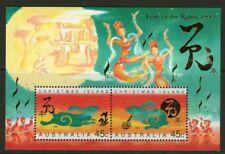 Christmas Island 1999 Year of the Rabbit Miniature Sheet Mint Unhinged