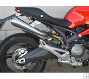 ESCAPE ENDY PRO GP DUCATI MONSTER 696 i.e. 2008-2014