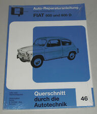 Reparaturanleitung Fiat 600 & 600 D, Baujahre 1955-1969