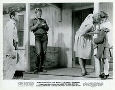 STEVE McQUEEN BABY THE RAIN MUST FALL 1965 VINTAGE PHOTO ORIGINAL #8