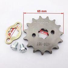 428 15 Tooth 17mm ID Front Gear Engine Sprocket 125cc 160cc Pit Dirt Bike Atv