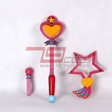 Anime Magical Angel Creamy Mami Microphone Hand Wand 1/1  PVC Cosplay Props Gift