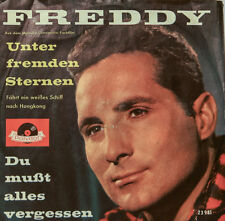 "FREDDY - MENOS DE EXTRAÑOS STERNEN - DU MUSST ALLES VERGESSEN 7""SINGLES (h240)"