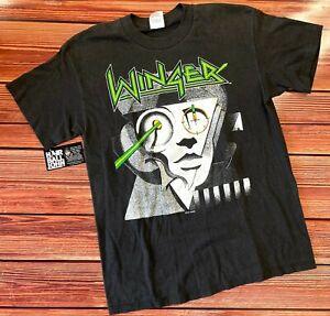 WINGER  *ORIGINAL* 1988 Tour Shirt - Size L