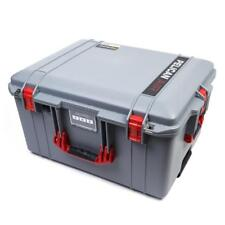 Silver & Red Pelican 1607 Air case with foam.