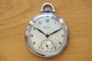SALUT MOLNIJA Soviet USSR POCKET WATCH 1948 2MChZ