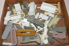 O & S Scale RESIN Construction & Other Tracked Tracks & Parts LOT