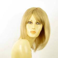 perruque femme 100% cheveux naturel longue blonde ref LISE  22