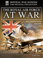 Imperial War Museum: The Royal Air Force at War (DVD, 2008, 3-Disc Set) Rare HTF
