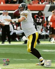 BEN ROETHLISBERGER 8x10 (Awesome Action Photo vs Bengals) PITTSBURGH STEELERS #7