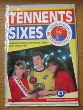 20/01/1991 6-A-Side Scotland [Tennnats] Championship: At Scottish Exhibition Cen