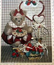"""Prairie Grove Peddler Teddy Bear pattern 13"""" Kitchen"""