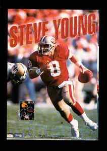 1993 Steve Young San Francisco 49ers Original Starline Poster OOP