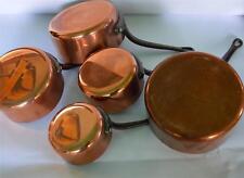 French copper pans saucepan cuisine professional casseroles en cuivre